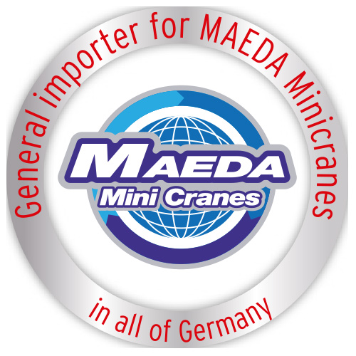 General importer of Maeda mini cranes for Germany